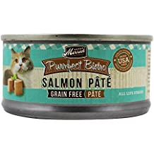 Merrick Purrfect Bistro Grain Free Salmon Pate Canned Cat Food, 3 oz., Case of 24