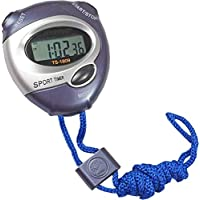 Inditradition Multi-Feature Digital Stopwatch with Timer & Alarm | for Sports, Study, Camping, Fun (Waterproof, with Holding Rope)