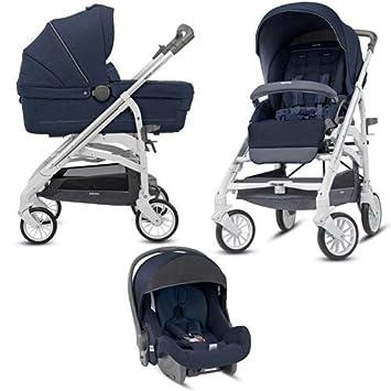 Inglesina - Trilogy Imperial Blue - Cochecito de bebé 3 en 1: Amazon.es: Bebé
