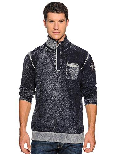 ARQUEONAUTAS Herren Pullover Sweatshirt, navy
