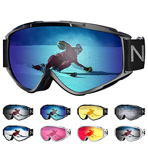 Provided Winter Snowboard Ski Goggles For Kids Dual Lens Anti Fog Windproof Mask Colorful Plated Large Frame Skiing Glasses Children Elegant In Smell Sports & Entertainment Skiing & Snowboarding