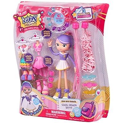 Betty Spaghetty S1 Hair Fashion Pack: Toys & Games