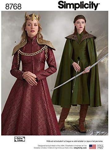 Simplicity 8768 Patron de couture pour costumes H5 34-36-38-40-14