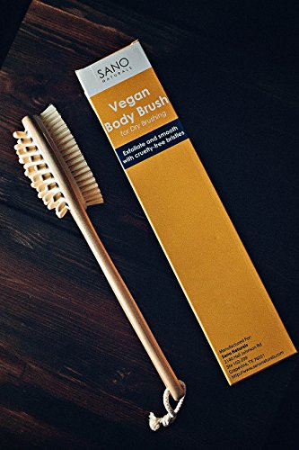 Dry-Brushing-Body-Brush-VEGAN-Gentle-Natural-Cellulite-Massager-and-Exfoliating-Lymphatic-Scrub-Brush-For-Radiant-and-Smoother-Skin