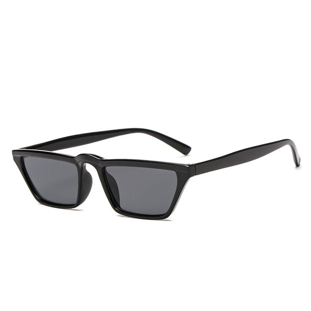 FUNOC Sunglasses for Men Driving Mens Sunglasses Rectangular Vintage Sun Glasses for Men//Women