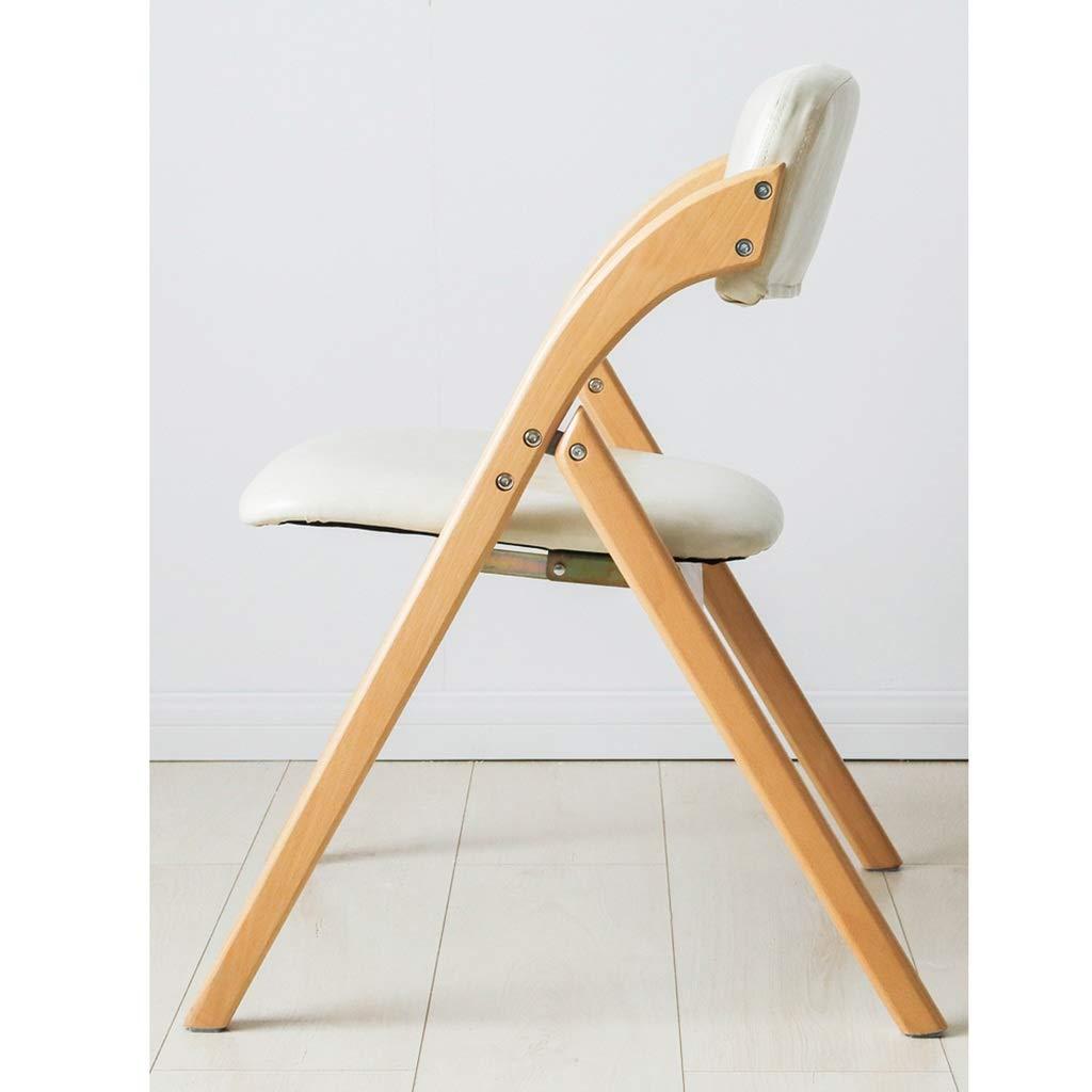 ZWJLIZI bok vadderad fällstol, matrumsstol, kontorsstol, skrivbordsstol (färg: A) E