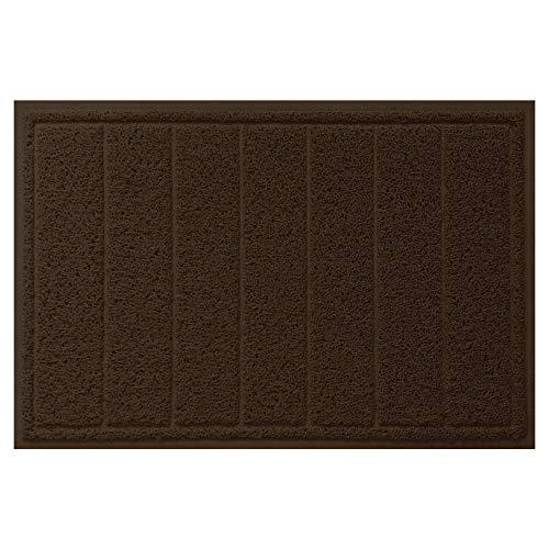 Indoor Door Mats - Gorilla Grip Original Durable Indoor Door Mat (35x23) Large Size, Heavy Duty Doormats, Waterproof Doormat, Easy Clean, Low-Profile Mats for Entry, Garage, Patio, High Traffic Areas (Brown)