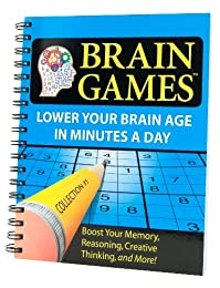 BRAIN GAMES (LOWER YOUR BRAIN AGE IN MINUTES A DAY, 4)