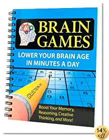 Brain Games® #1: Lower Your Brain Age in Minutes a Day