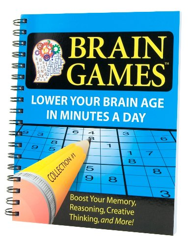Brain Games® #1: Lower Your Brain Age in Minutes a Day (Brain Games (Numbered))