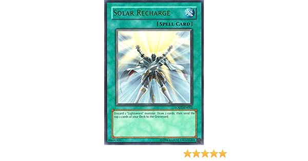 Yugioh 1x Ultimate 1st Solar Recharge Lodt-en052 Near Mint