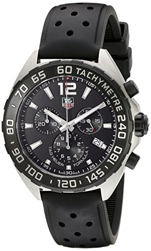 TAG Heuer Men's CAZ1110.FT8023 Formula 1 Analog Display Swiss Quartz Black Watch (Quartz Formula Watch 1)