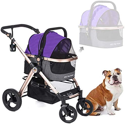 Stroller Carrier Pump Free Aluminum Reversible