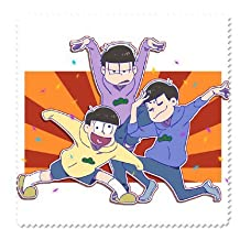 Eyeglass Microfiber Cleaning Cloth Best Cleaner for Anime Osomatsu-san Special Mr. Osomatsu (pack of 2) C