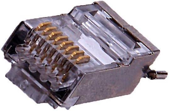 CAT5e External 50pcs Each Combo Shielded CAT5e//5 ESD connectors with Boots