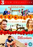 The Best Exotic Marigold Hotel / We Bought a Zoo / The Descendants Triple Pack [Region 2 - Non USA Format] [UK Import]