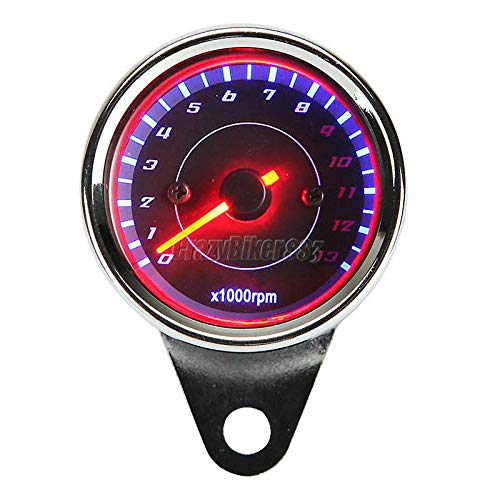 - FidgetKute LED Backlight Tachometer for Yamaha V-Star XVS 650 1100 1300 Custom Silverado