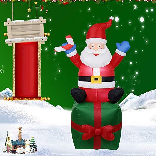 Watkings 1.8m Inflable Papá Noel, Inflable soplado por el ...