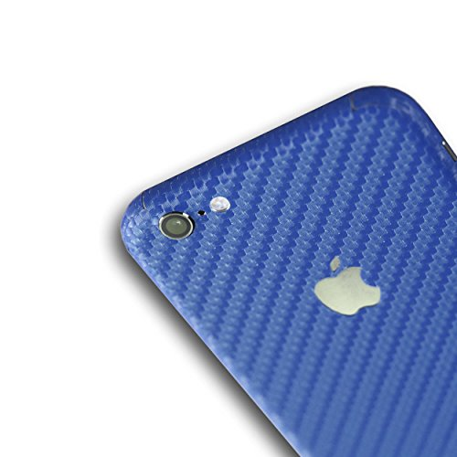 AppSkins Rückseite iPhone 6 Full Cover - Carbon blue