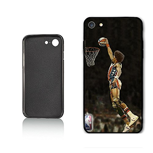 WZSY Julius Erving Dr.J Case for iPhone 6 iPhone 6s,PC Material Never Fade