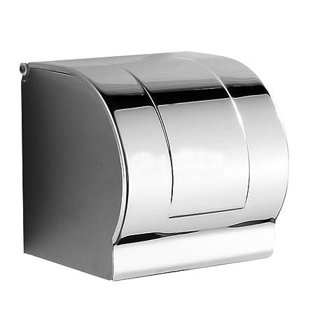 Foccoe Stainless Steel Bathroom Toilet Paper Holder Toilet Roll