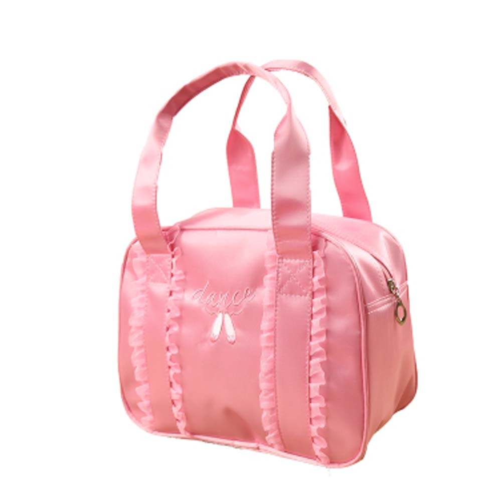 George Jimmy Portable Bag Dance Duffle Bags Girls Dance Bag Sport Travel Bag, Pink by George Jimmy