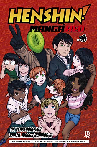 Henshin Mangá Red #01 por [Vencedores do BMA]