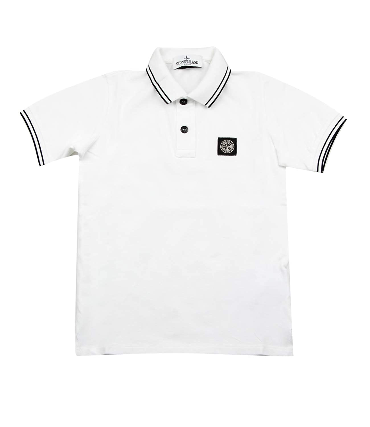 Stone Island Junior Polo Bambino Kids Boy Mod. 701621348: Amazon ...