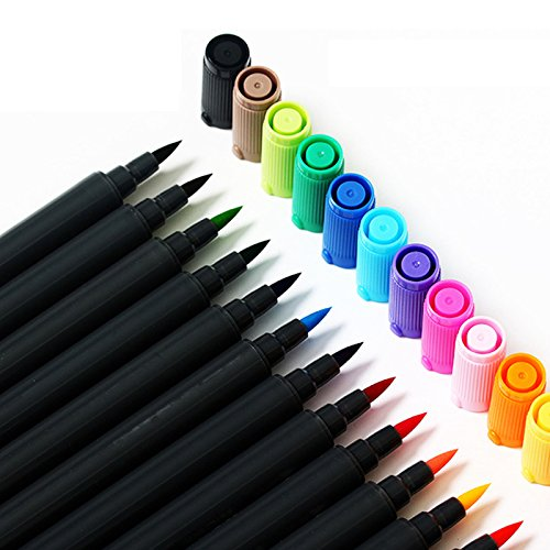 12 Colors Marker Pen Architecture Alcohol Based Art Markers by Office & School Supplies YingYing (Image #3)