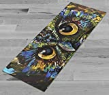 Pimp My Yoga Mat – Abstract Owl – Original Artwork 72×24 in Yoga Mat / Pilates Mat, 1/8 in Thick Review