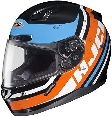 2014 Hjc Cl-17 Victory Full Face Motorcycle Helmets - Black - X-Large