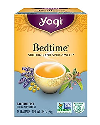 Yogi Tea, Bedtime, 16 Count, Packaging May Vary