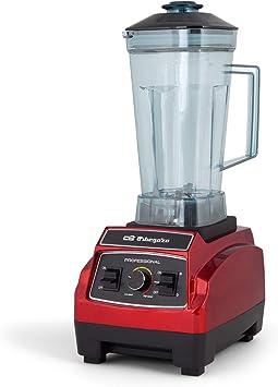 Orbegozo BV 9600 - Batidora de vaso profesional, capacidad 2,2 litros, libre de BPA, regulador de potencia y función ...