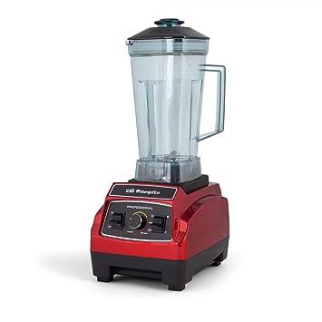 Orbegozo BV 9600 - Batidora de vaso profesional, capacidad 2,2 litros, libre de BPA, regulador de potencia y función turbo, apta para alimentos ...
