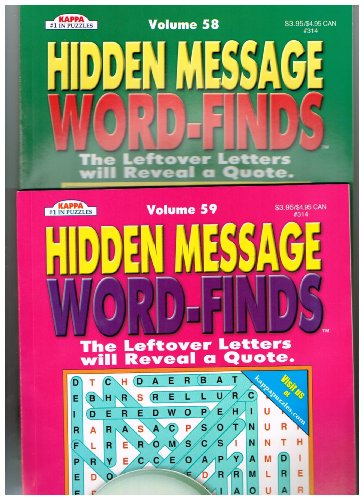 hidden-message-word-finds-set-of-2-see-seller-comments-for-volumes-by-kappa