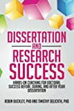 Dissertation and Research Success, Timothy A. Delicath and Robin Buckley, 1479764272