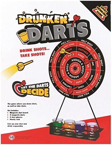 Dardos Juego de beber Alcohol disparos juego ideal para fiestas reuniones adulto Stags: Amazon.es: Hogar