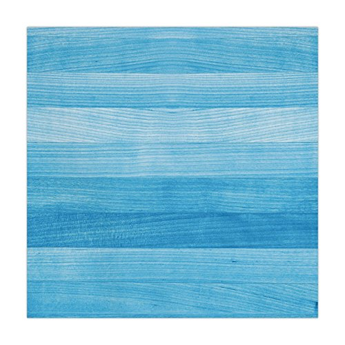 Polyester Square Tablecloth,Light Blue,Wooden Planks Painted Texture Image Oak Tree Surface Maple Pine Board Stripes Decorative,Light Blue,Dining Room Kitchen Picnic Table Cloth Cover,for Outdoor Indo