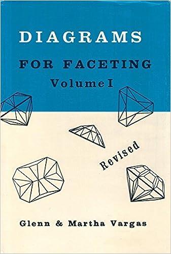 Diagrams for Faceting, Vol  1: Glenn Vargas, Martha Vargas