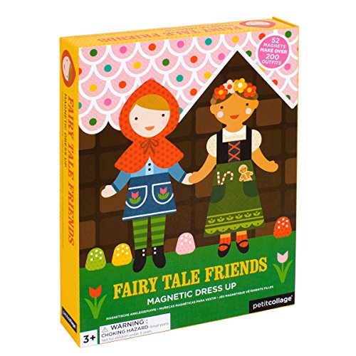 Kit Tales - Petit Collage Magnetic Dress-Up, Fairy Tales