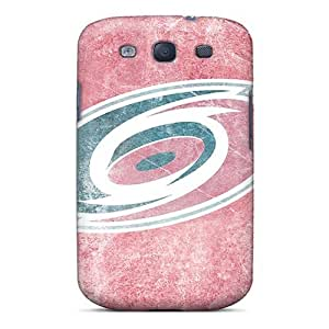 Galaxy S3 Hard Back With Bumper Silicone Gel Tpu Case Cover Carolina Hurricanes by lolosakes