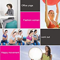 LB Pelota Inflable Gimnasia para Ejercicios Yoga Pilates ...