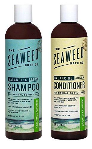 Balancing Shampoo + Conditioner Set, The Seaweed Bath Co.