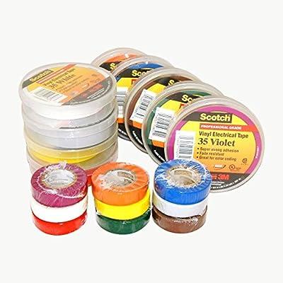 3M Scotch 35 Color Coding Vinyl Electrical Tape