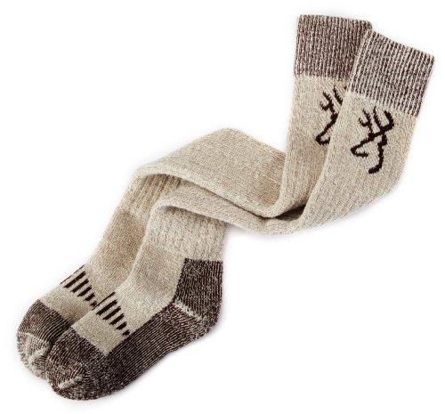Browning Hosiery Men's Merino Wool Wader Sock (Brown, X-Large)