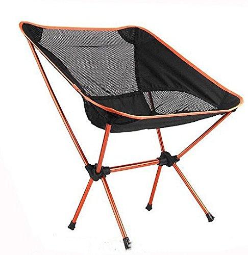 超軽量ポータブル折りたたみバックパッキングキャンプ椅子with Carryバッグ B073Y85C69