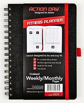 Acción Fitness - semanales planificador día/páginas ...