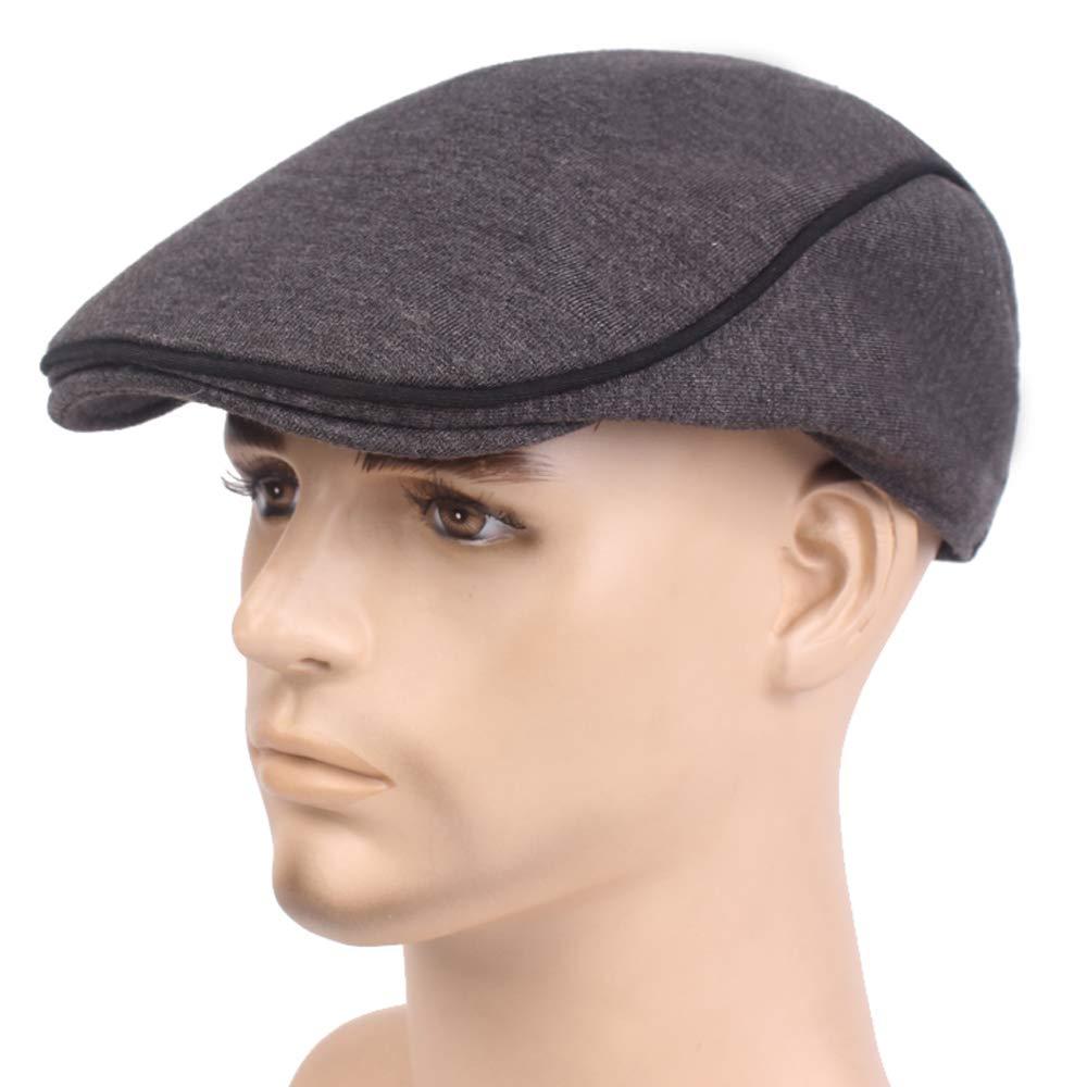 XRDSS Mens Cottono Ivy Gatsby Newsboy Cap Tweed Cap Driving Cabbie Flat Cap