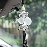 Daphot-Store - Crystal Car Styling Hanging Ornament Luxury Lucky Gourd Blessing Car Pendant Car Accessories For Car Rearview Mirror