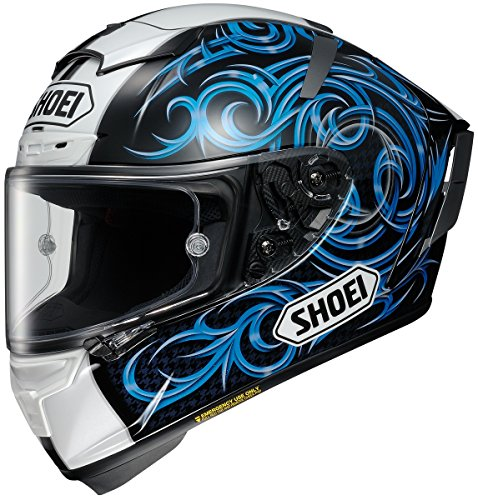 Shoei Kagayama 5 X-14 Street Racing Motorcycle Helmet - TC-2 / Large